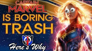 Download Captain Marvel is boring TRASH: here's why Video