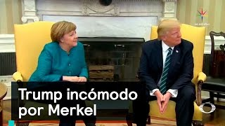 Download Trump incómodo con Merkel - Denise Maerker 10 en punto - Video