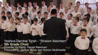 Download Yeshiva Darchei Torah Choir - Shalom Aleichem Video