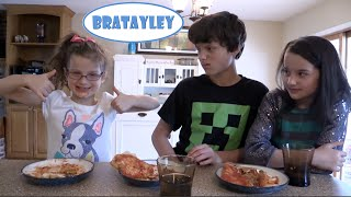 Download Pizza Challenge with Bratayley (WK 224) Video