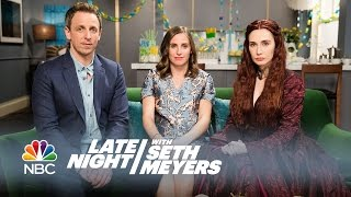 Download Melisandre at a Baby Shower - Late Night with Seth Meyers Video