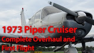 Download Giving an Old Airplane New Life. Piper Cherokee Cruiser Rebuild and First Flight Video