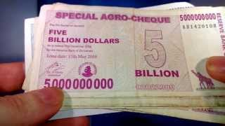Download The 100 Trillion Dollar Bill - Super Hyperinflation - Zimbabwe Economic Disaster Video
