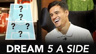 Download ″Neymar will win the Ballon d'Or″ | Philippe Coutinho's Dream 5-A-Side ⚽ Video