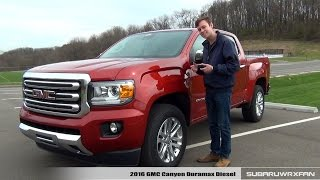 Download Review: 2016 GMC Canyon Duramax Diesel Video