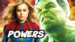 Download Captain Marvel is Most Powerful Avenger in Infinity War Explained Video