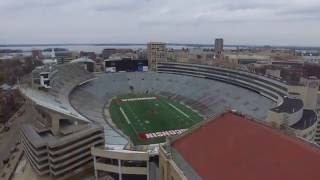 Download University Of Wisconsin Badgers Camp Randall Stadium (Drone) Video