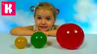 Download Желейные прыгучие шары делаем сами из фруктового желе Giant Gummy balls Video