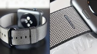 Download Apple Watch Woven Nylon Band: Review Video