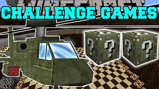 Download Minecraft: ATTACK HELICOPTER CHALLENGE GAMES - Lucky Block Mod - Modded Mini-Game Video