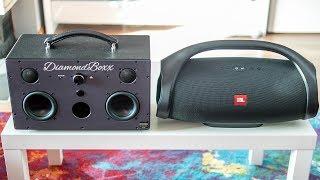 Download Diamondboxx Model M vs JBL Boombox - indoor comparison Video