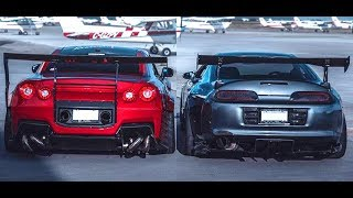 Download NISSAN GTR R35 VS TOYOTA SUPRA MK4 -||- Versus Series Video