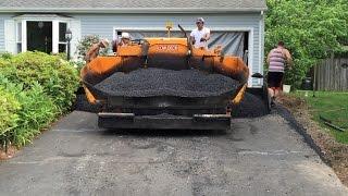Download A-Pak Paving Resurfaces Our Asphalt Driveway Video