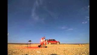 Download Super Moon eclipes 28th Sep 2015 over Lake Magadi - Kenya Video