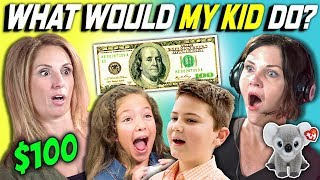 Download CAN PARENTS GUESS WHAT THEIR KID DOES WITH 100 DOLLARS? Ep. # 3 Video