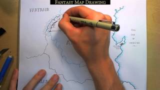 Download Fantasy Map Drawing Video