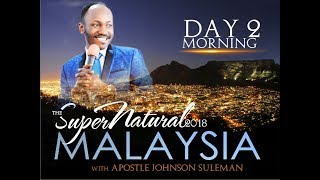 Download The Supernatural - Malaysia - Day 2 Morning - With Apostle Johnson Suleman Video