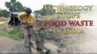 Download Technology stops food waste in India [HD] Video