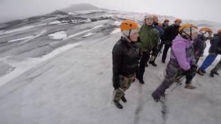 Download Glacier Hiking on Sólheimajökull Glacier Iceland Video