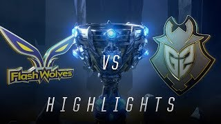 Download FW vs. G2 - Worlds Group Stage Day 6 Match Highlights (2018) Video