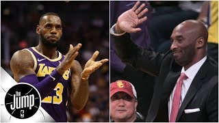 Download Why Lakers fans chanting 'Kobe' with LeBron James playing is 'a great look'   The Jump Video