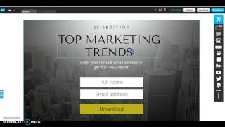 Download How to create a Landing page with GetResponse Video