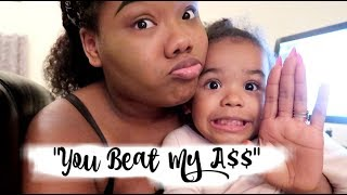 Download My 3 Year Old Cussed At Me! | Video Footage ″You Beat My A$$″ Video