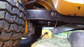 Download Cub Cadet LTX 1046 KW deck removal and blade sharpening Video