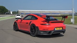 Download 2018 Porsche 991 GT2 RS Going FLATOUT on Track! Video