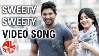 Download Race Gurram Songs | Sweety Sweety Video Song | Allu Arjun, Shruti hassan, S.S Thaman Video