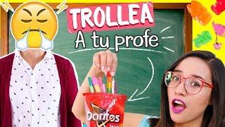 Download ¡TROLLEA A TU PROFESOR con tus UTILES ESCOLARES! - ¡NI SE LO ESPERA! 😈😝 ✄ Craftingeek Video