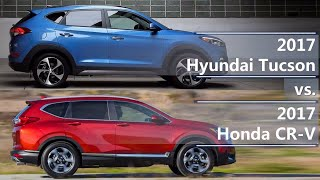 Download 2017 Hyundai Tucson vs 2017 Honda CR-V (technical comparison) Video