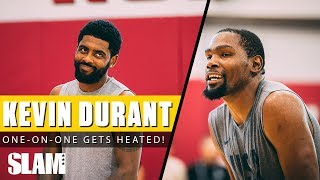Download Kevin Durant Wins HEATED 1-on-1 Game at USA Training Camp 🔥 Video