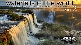 Download WORLD'S WATERFALLS in 4K [w music] Nature Relaxation™ 1 Hour Ambient Film for Healing & Meditation Video