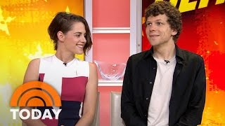 Download Kristen Stewart And Jesse Eisenberg Talk 'American Ultra' | TODAY Video