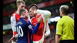 Download THE DIRTY SIDE OF MANCHESTER UNITED VS ARSENAL●FIGHTS●FOULS●RED CARDS Video
