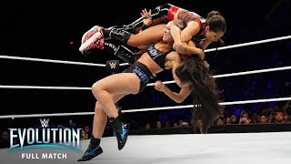 Download FULL MATCH - Ronda Rousey vs. Nikki Bella - Raw Women's Championship: WWE Evolution (WWE Network) Video