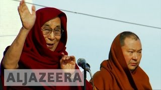 Download Dalai Lama's visit risks Mongolia's aid package from China Video