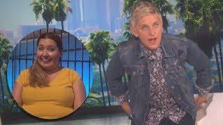 Download Ellen Degeneres Catches Audience Member Video