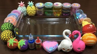 Download MIXING RANDOM THINGS INTO STORE BOUGHT SLIME ! RELAXING SATISFYING SLIME Video