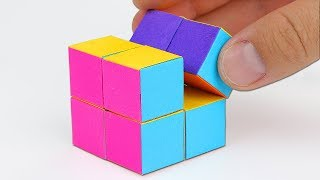 Download How To Make An INFINITY CUBE Out Of Paper! Video