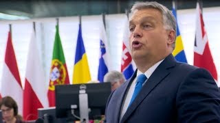 Download ″Hungary will not be a country of migrants″ - Viktor Orban's scathing address to European Parliament Video