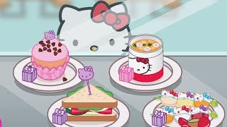 Download Baby Learn Cooking With Kitty - Hello Kitty Lunchbox | Children Play Fun Kitchen Kids Game Video