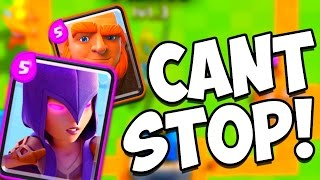 Download Clash Royale GIANT WITCH Level 7 GREAT DECK!! Arena 5-6-7 Strategy!! Video