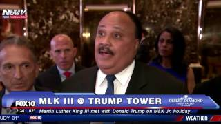 Download HISTORIC: Martin Luther King III Meets with Donald Trump on Father MLK Jr.'s National Holiday - FNN Video