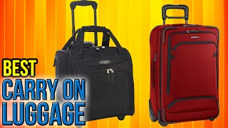 Download 10 Best Carry On Luggage 2017 Video