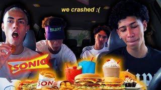 Download SONIC MUKBANG: Eli Crashed The Car.... Video