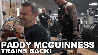 Download Full Back Workout with Paddy McGuinness! Video