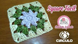 Download Square Fácil Crochê Passo a Passo por Claudete Azevedo Video