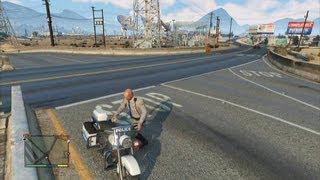 Download GTA V - Police Bike Location Video